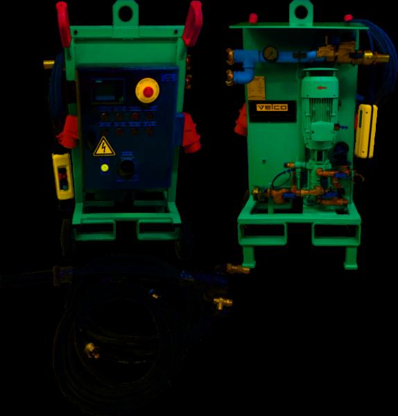 Mobile-Gunmix-Einheit