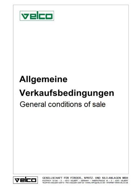 Allgemeine Verkaufsbedinungen
