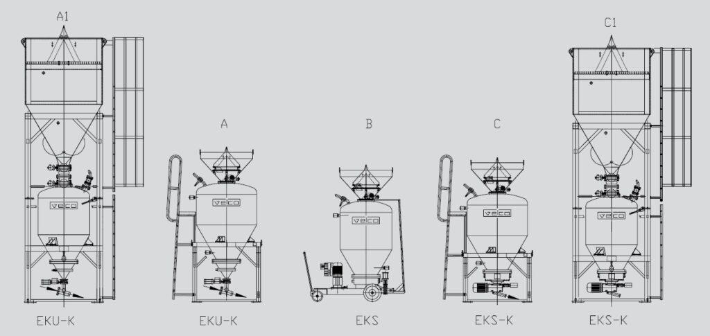 Druckammer Spritzmaschinen
