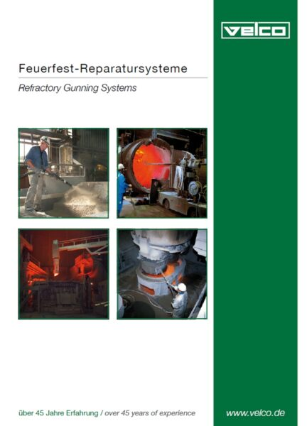 Prospekt Feuerfest-Reparatursysteme